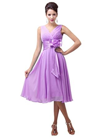 Fashion Chiffon Graduation Party Prom Gowns for Juniors JS6015-4 UK 20