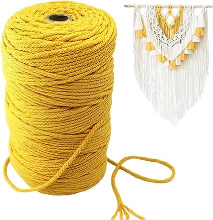 200m macrame cord colors macrame bag braided cord knitting rope macrame string macrame supplies crochet rope 3mm gold macrame rope