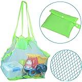 KidsHobby Extra Large Family maglia spiaggia borsa Tote zaino giocattoli asciugamani sabbia lontano