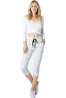 fc48095e6 ALWAYS Women Drawstrings Jogger Sweatpants - Super Light Skinny Fit Premium  Soft Stretch Pockets Pants