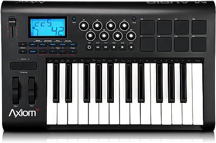 Amazon.com: M-Audio Axiom 25 Controlador de teclado de 25 ...