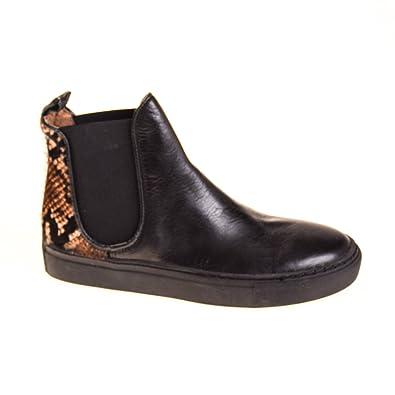 Tango Shoes Damen Sneaker Leder Schwarz
