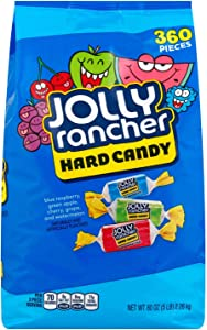 Jolly Rancher Hard Candy, Original Flavors, Holiday Value Pack Three 5 Pound Bags 15-Pounds Total