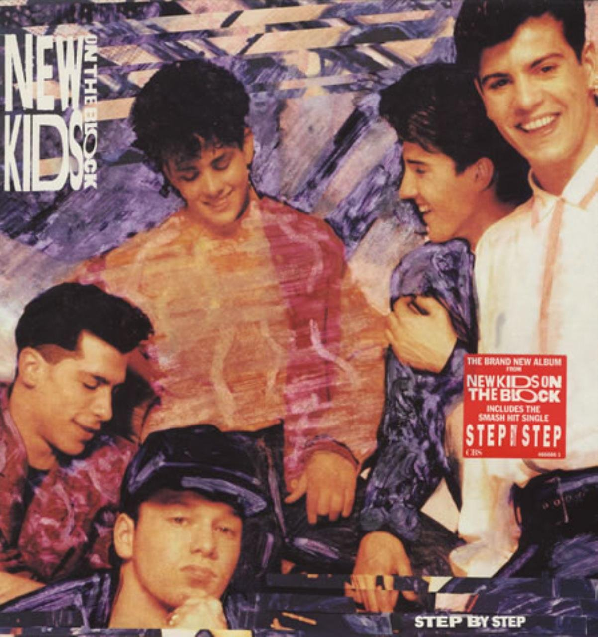 NEW KIDS ON THE BLOCK - step by step LP - Amazon.com Music