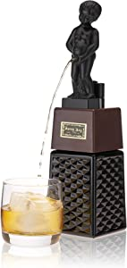 True D75 Bonny Boy Liquor Gag Gifts, Beverage, Wine, Beer, Whiskey, Vodka, Gin and Margarita Alcohol Dispenser, One Size, Black