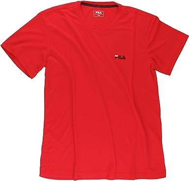 Fila T-Shirt Logo Men - Camiseta de Running para Hombre: Amazon.es: Ropa y accesorios