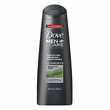 Amazon Com Dove Men Care Shampoo And Conditioner Minerals And Sage 12 Ounce Prime Pantry