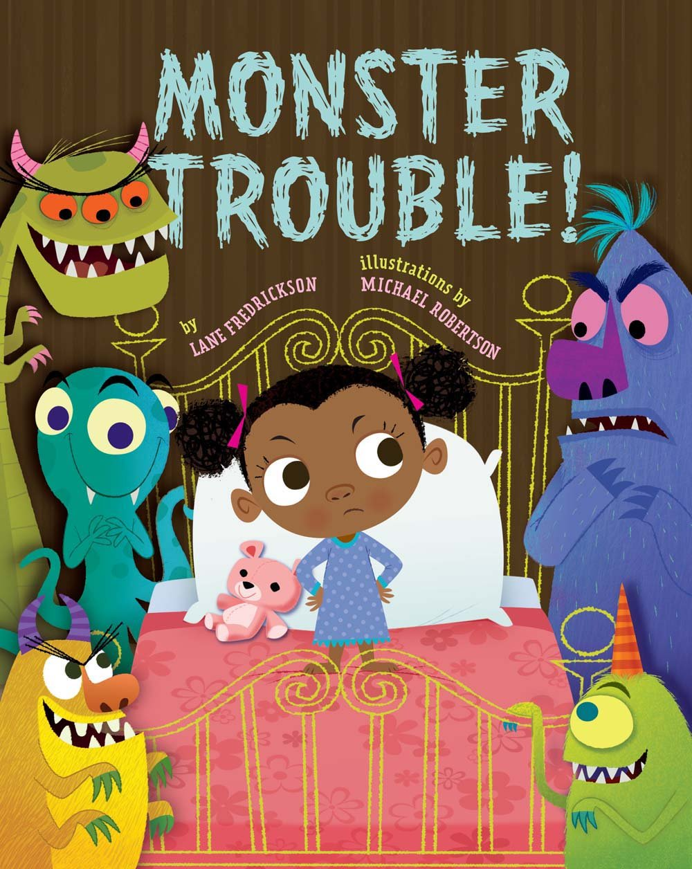Monster Trouble! by Sterling Children's Books (Image #1)