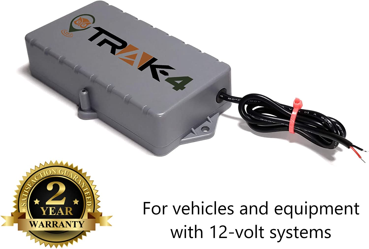 Amazon.com: Trak-4 12v GPS Tracker with Wiring Harness for Tracking  Equipment, Vehicles, and Assets: ElectronicsAmazon.com