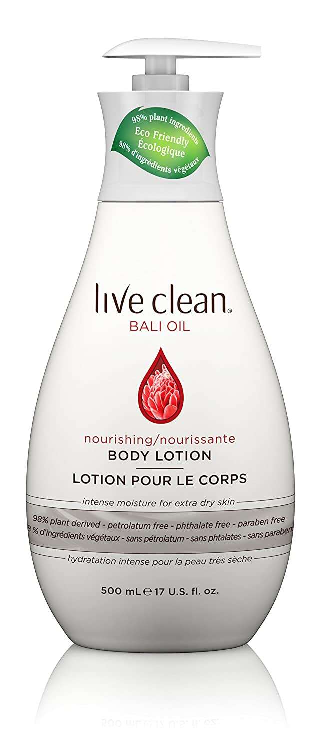 Live Clean Bali Oil Exotic Shine Nourishing Body Lotion