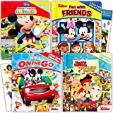Disney ''My First'' Look and Find Books Set Kids Toddlers -- 4 Books w Stickers (Mickey Mouse, Minnie Mouse and More!)