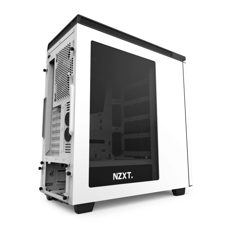 Nero//Rosso Nzxt CA-H442W-M1 Cassa da Gaming per PC