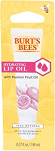 Burts Bees Hydrating Lip Oil with Passion Fruit Oil, 7.98 ml