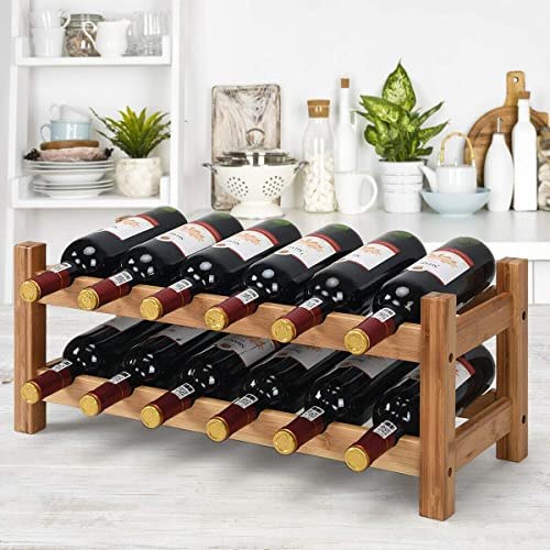 HAPPYGRILL Wine Rack