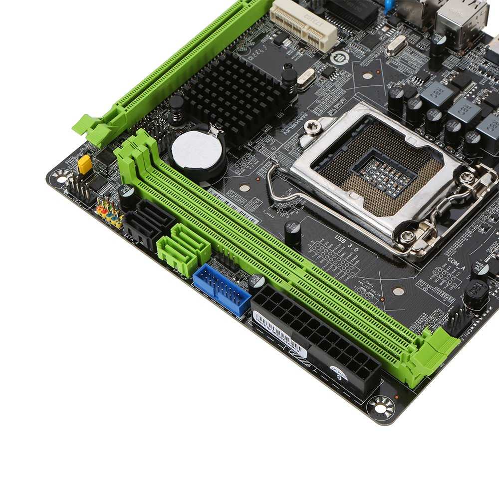 KKmoon MAXSUN MS-H81IL M.2 for Intel H81 LGA 1150 Socket Desktop Computer Mainboard Motherboard SATA 6Gb/s USB 2.0 Games DDR3 Intel LGA1150 Mini-ITX by KKmoon (Image #3)