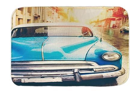 Cama Perro Garaje Vintage Cuba impreso 40x60 cm Gas Estaciones