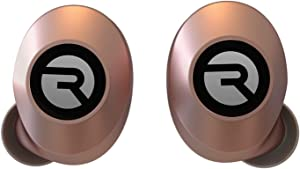 The Everyday Raycon Bluetooth Wireless Earbuds with Microphone- Stereo Sound in-Ear Bluetooth Headset E25 True Wireless Earbuds 24 Hours Playtime - Rose Gold