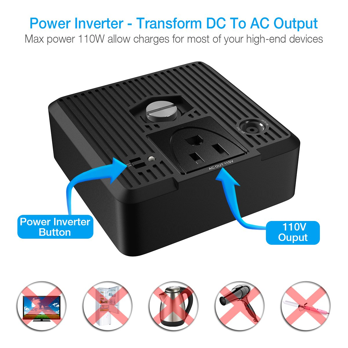 Poweradd Chargercenter Compact 185wh 50000mah Portable Download Image Ac Dc Converter 12v To 110v Circuit Pc Android Iphone Generator Power Source 5v 19v With Inverter 115v 100w For