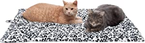 Furhaven Pet Dog Mat - Self-Heated Cat Bed Mat, Thermal Crate Pad, Warm Waterproof Dog Blanket, Shammy Rug Floor Protector, More - Available in Multiple Colors & Styles