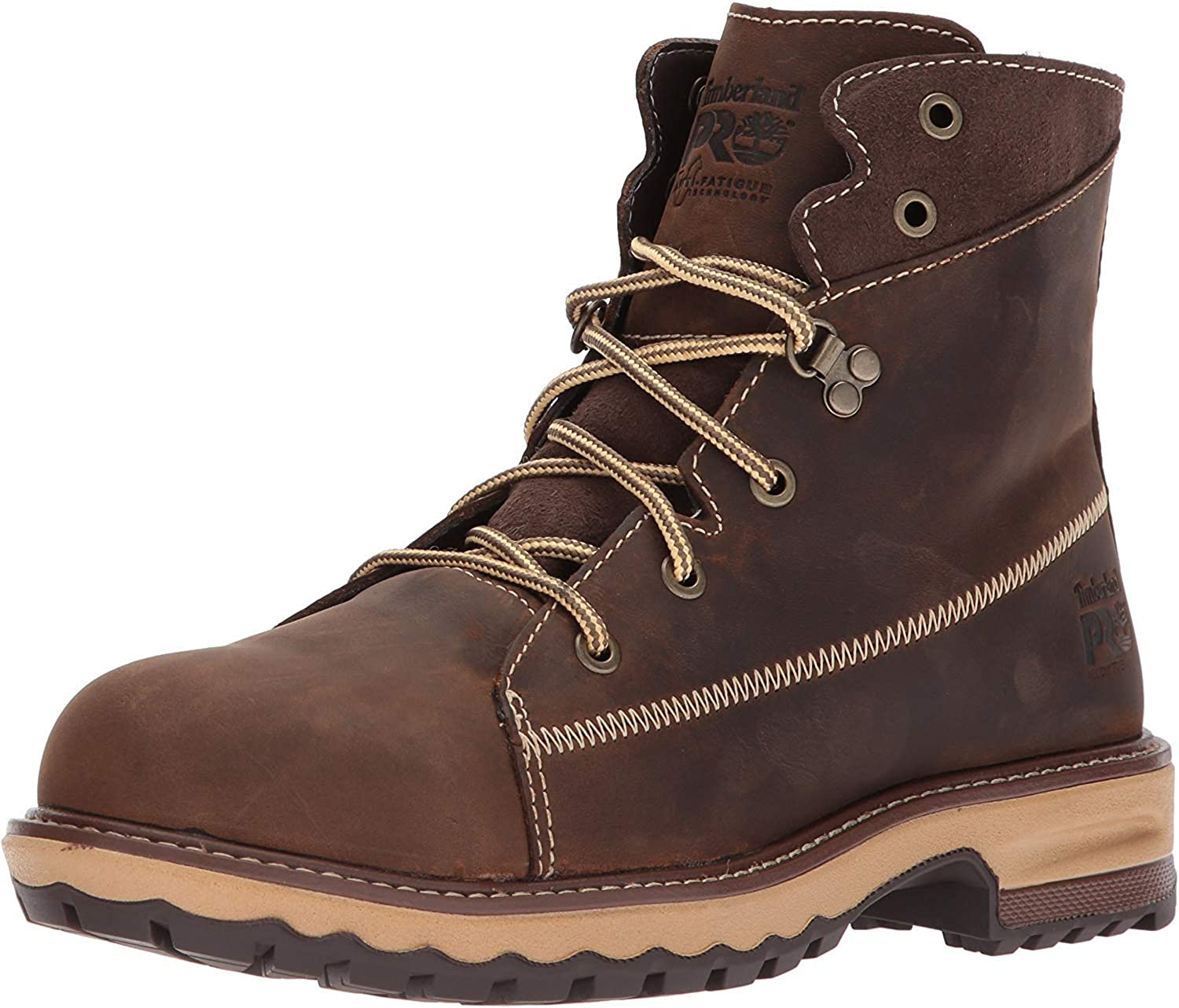"Timberland PRO Women's Hightower 6"" Alloy Toe Industrial & Construction Shoe"
