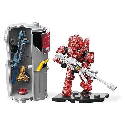 Mega Construx Halo Req Station Red Building Set: Toys & Games
