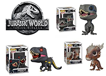 Jurassic Park : Blue + Stygimoloch + Indoraptor