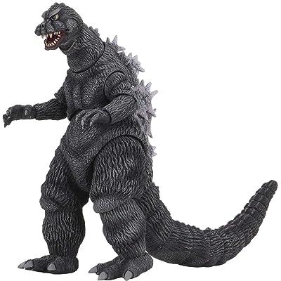 "NECA Godzilla: Mothra vs Godzilla 1964 Godzilla Action Figure, Multi-Colored, 7"" (302192): Toys & Games"