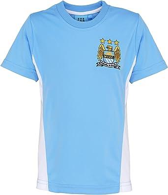 Con el fútbol oficial Merch niños Manchester City Camisa ...