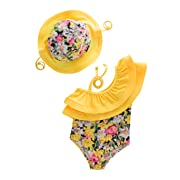 May's KidsGirl Onepiece 2 Pieces Swimwear Swimming Bathing Swimsuit