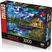 KS Moonlit Lake House 3000 Parça Puzzle