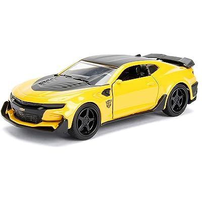 Jada 1:32 Metals Transformers - Bumblebee 2016 Chevrolet Camaro Diecast Model Car: Toys & Games