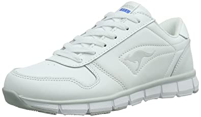 KangaROOS Unisex-Erwachsene K-Bluerun 700 B Low-Top, Weiß (White/Lt Grey 002), 40 EU