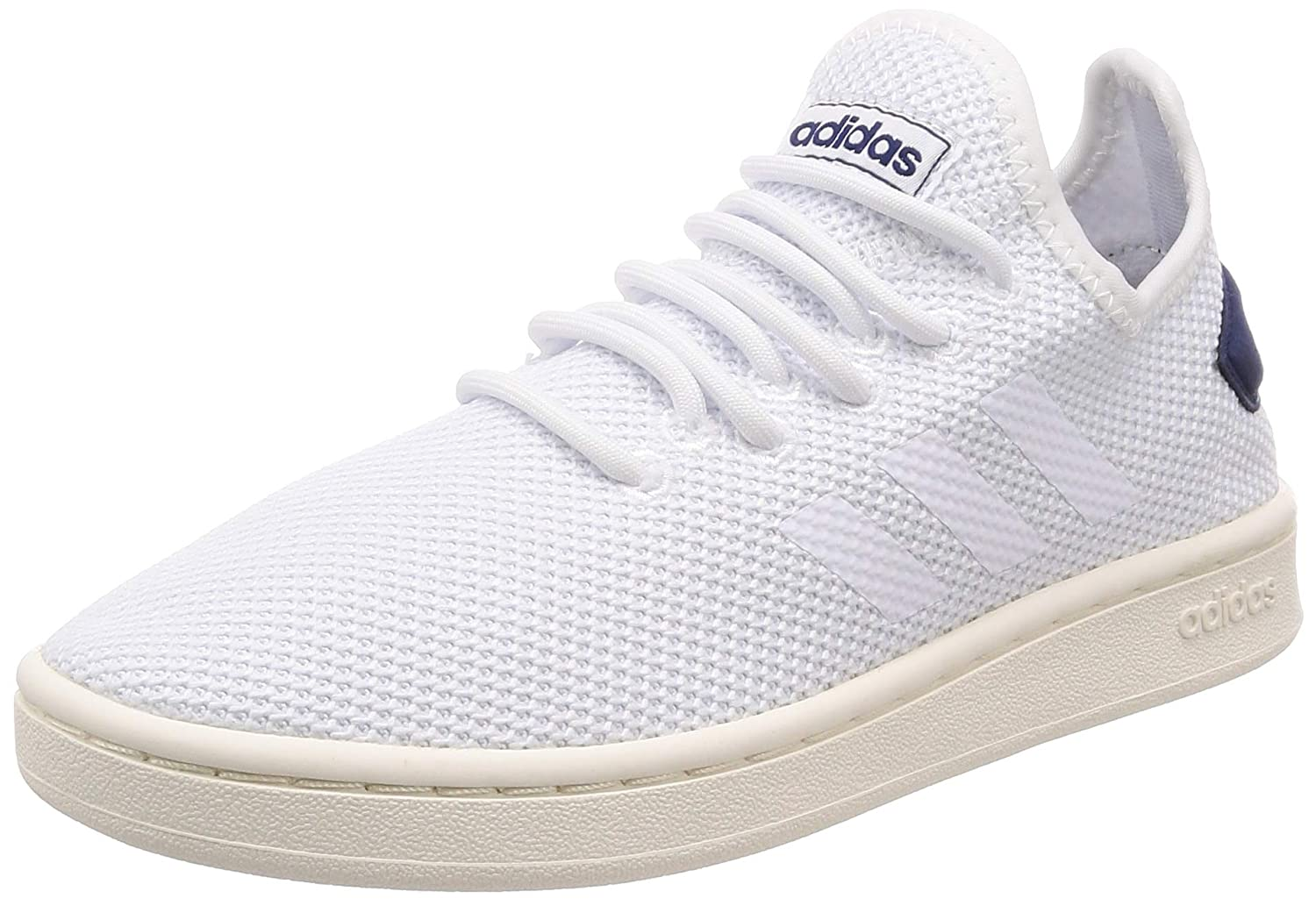 Amazon.com: adidas Court Adapt Trainers - Mens - White/White ...
