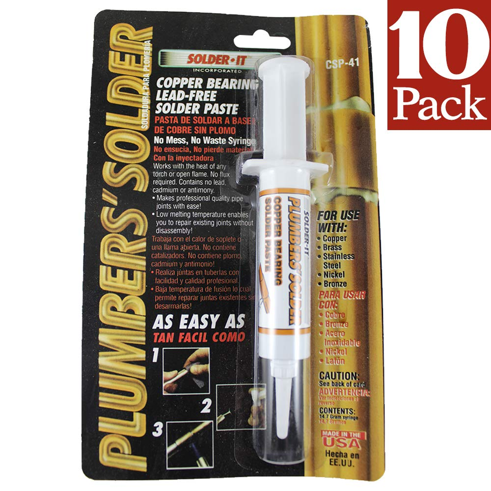 Solder-it CSP-41 Plumbers solder Copper bearing Lead-Free Solder ...