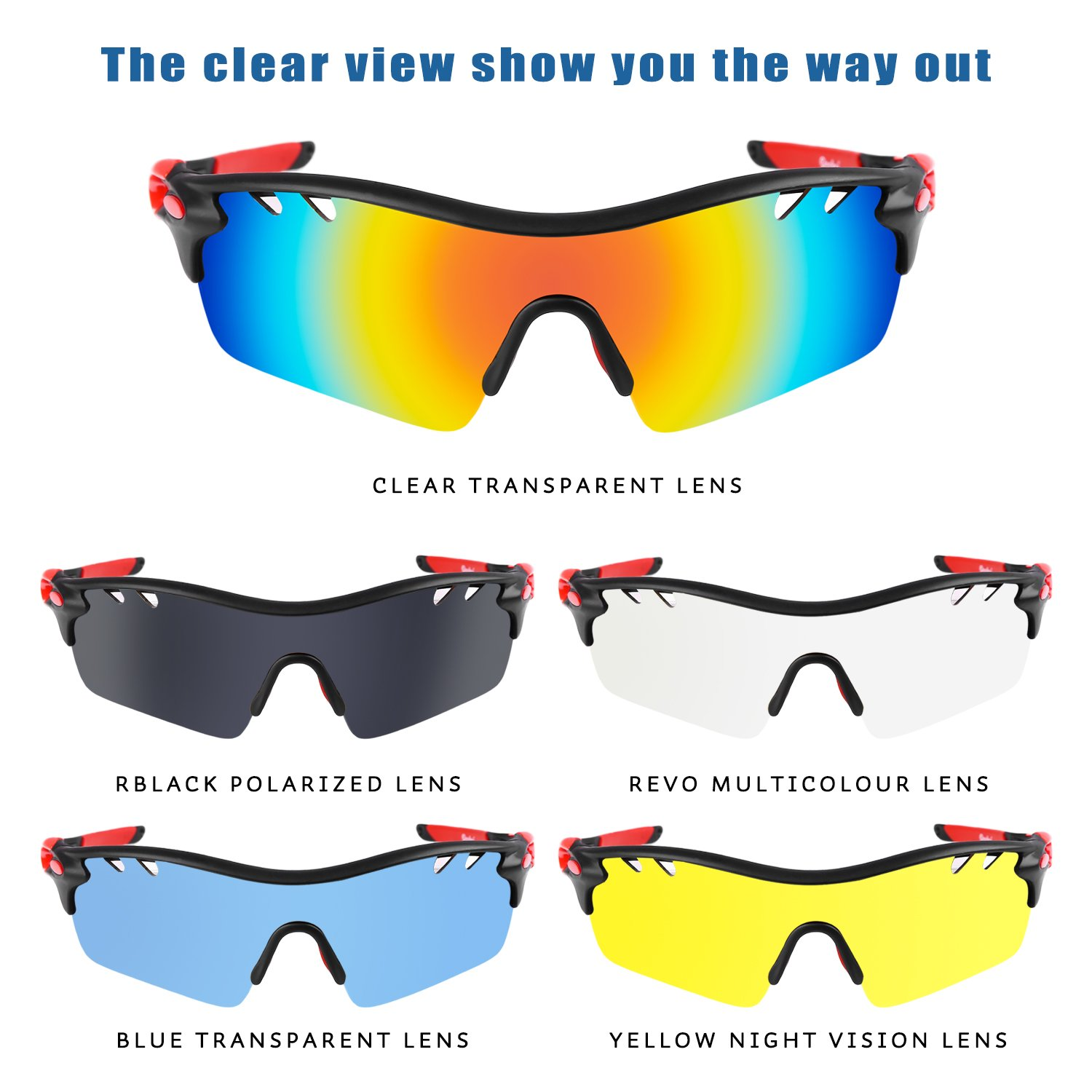 Benefit Of Yellow Cycling Glasses