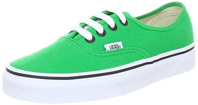 Vans Authentic Unisex-Erwachsene Sneakers Grün (Bright Green/Black)