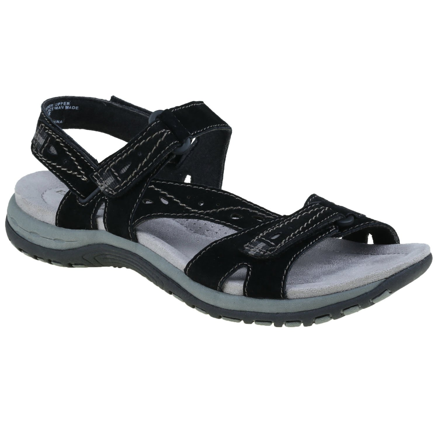 Earth Origins Women's Sophie Sandals B018QTNZKI 6.5 C/D US|Black