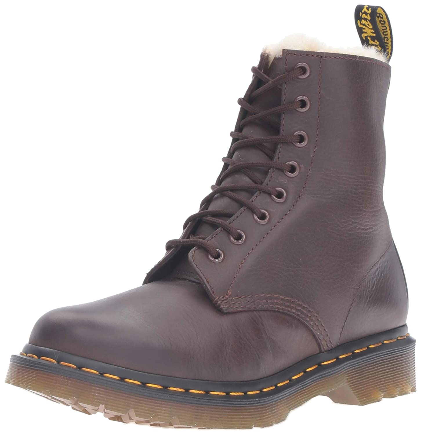 Fur lined Serena Dr Martens. They have my name on them