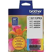 Brother Genuine LC30113PKS Standard Yield Cyan/Magenta/Yellow Ink Cartridge Set