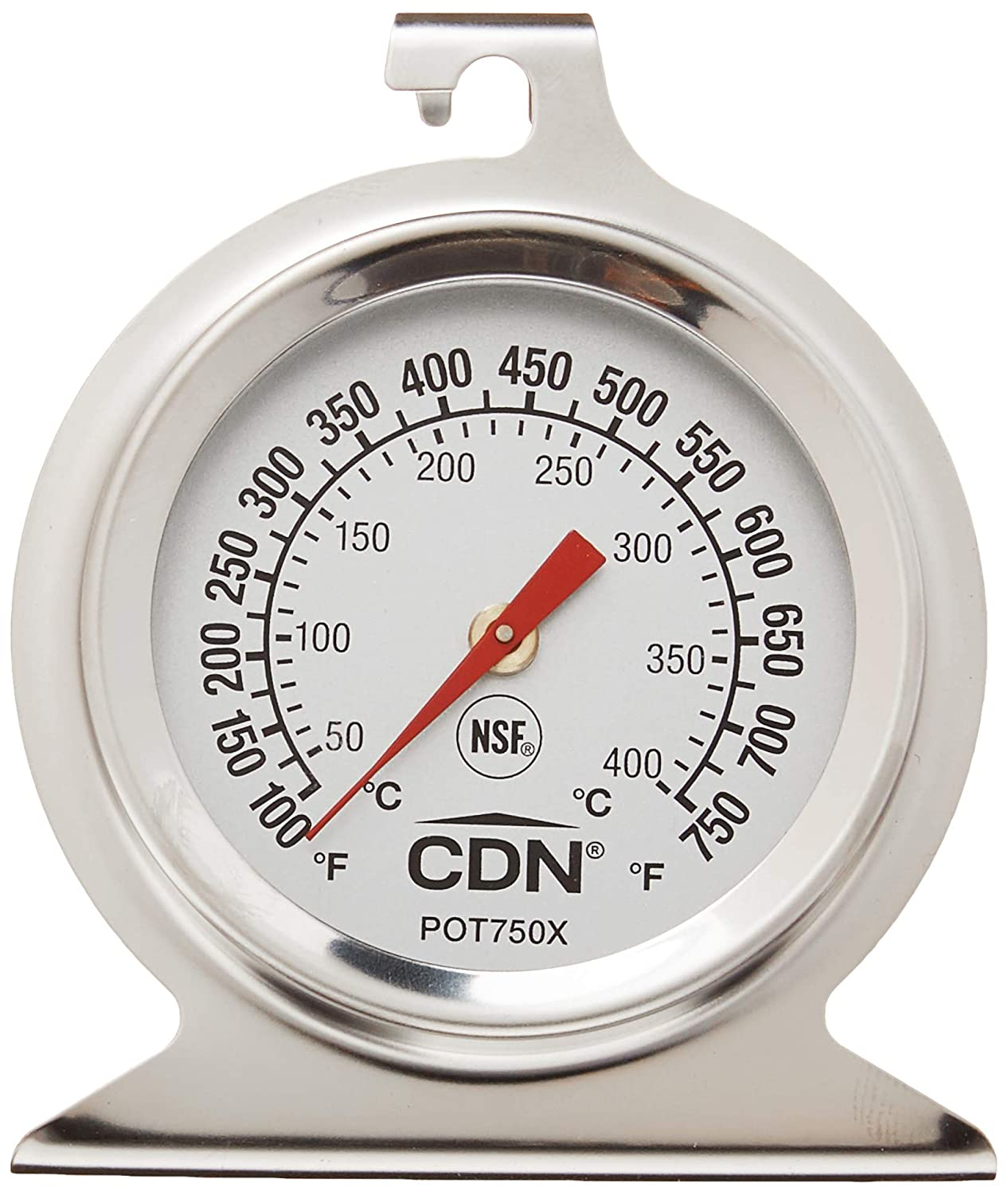 Home & Garden CDN High Heat Oven Thermometer Temperature ...