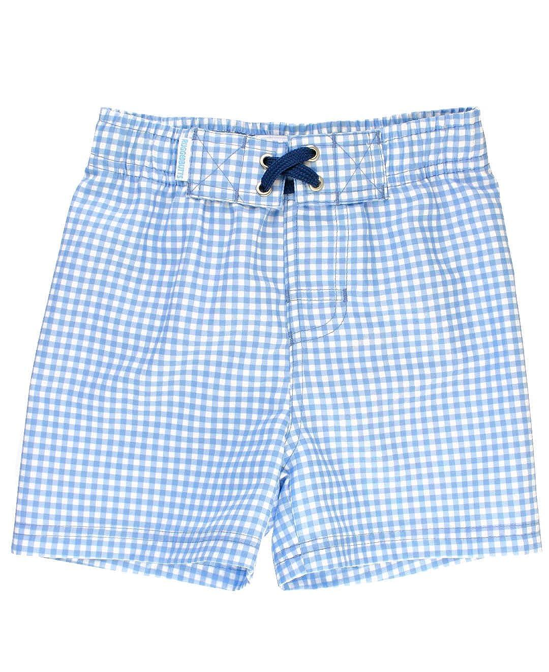 2854e73bc1e0a Amazon.com: RuggedButts Baby/Toddler Boys Swim Trunks w/Adjustable Waist:  Clothing