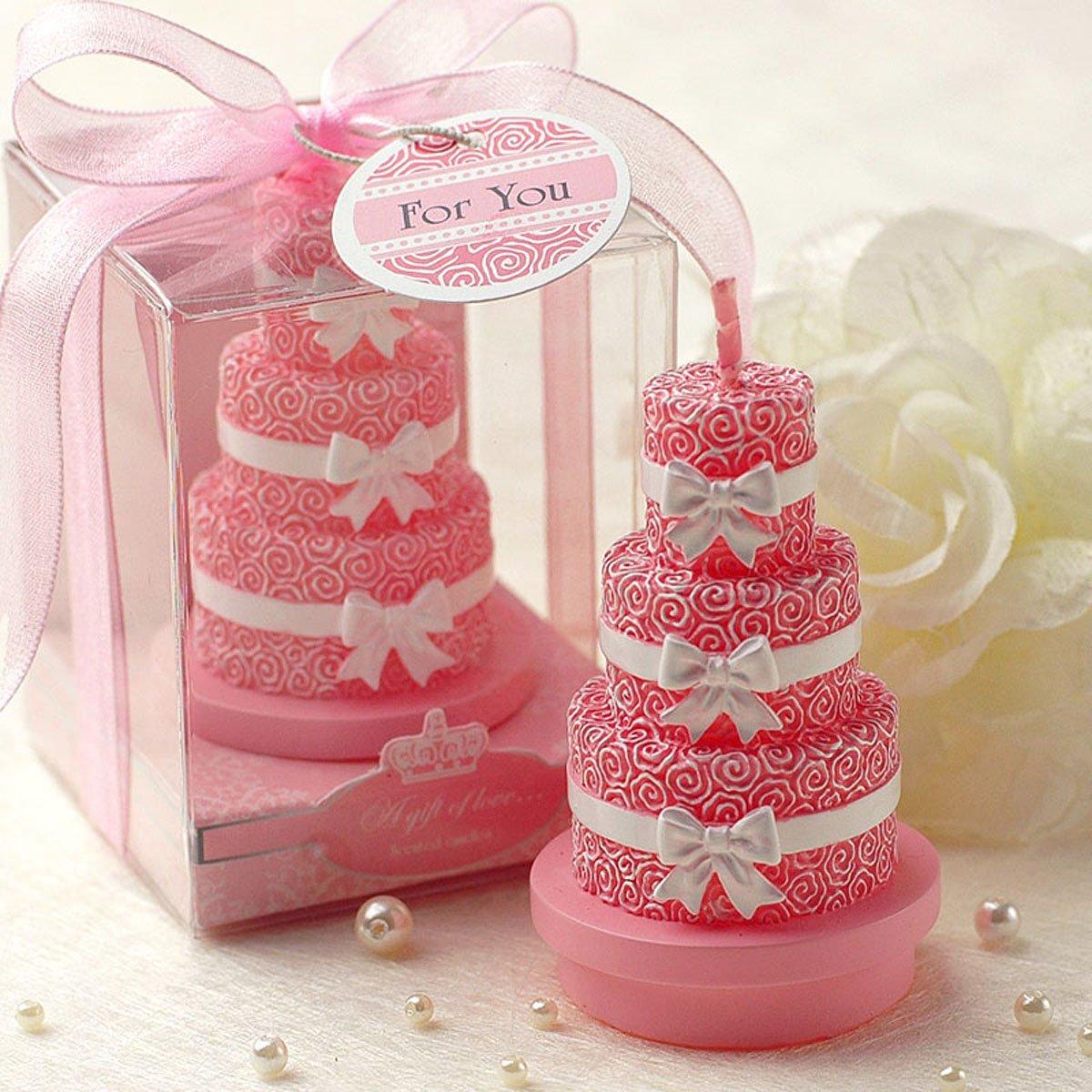 Cartoon Romantic Birthday Cake Charming Gifts Party Candles Smokeless Candles Birthday Candles for Baby Shower and Wedding Favor Keepsake Favor (10)