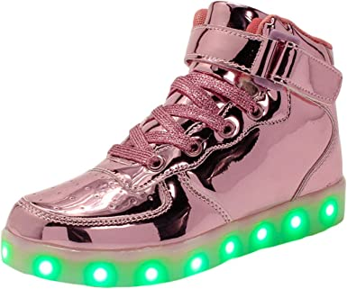 Soluo Kids Youth LED Light Up Sneakers