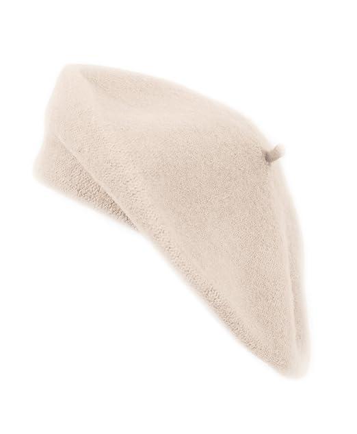 pourtant pas vulgaire faire les courses pour vente en ligne Nollia Solid Color French Wool Beret