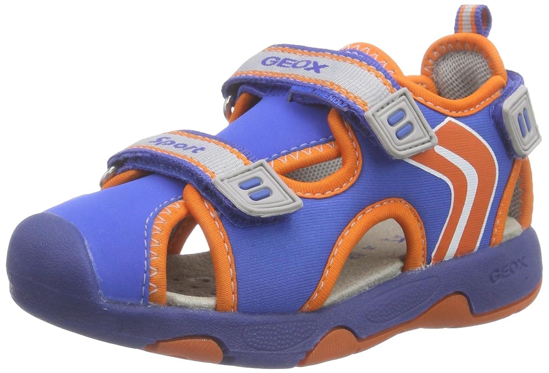 B Sandal Multy Boy B, Scarpe Walking Baby Bambino, Blu , 24 EU