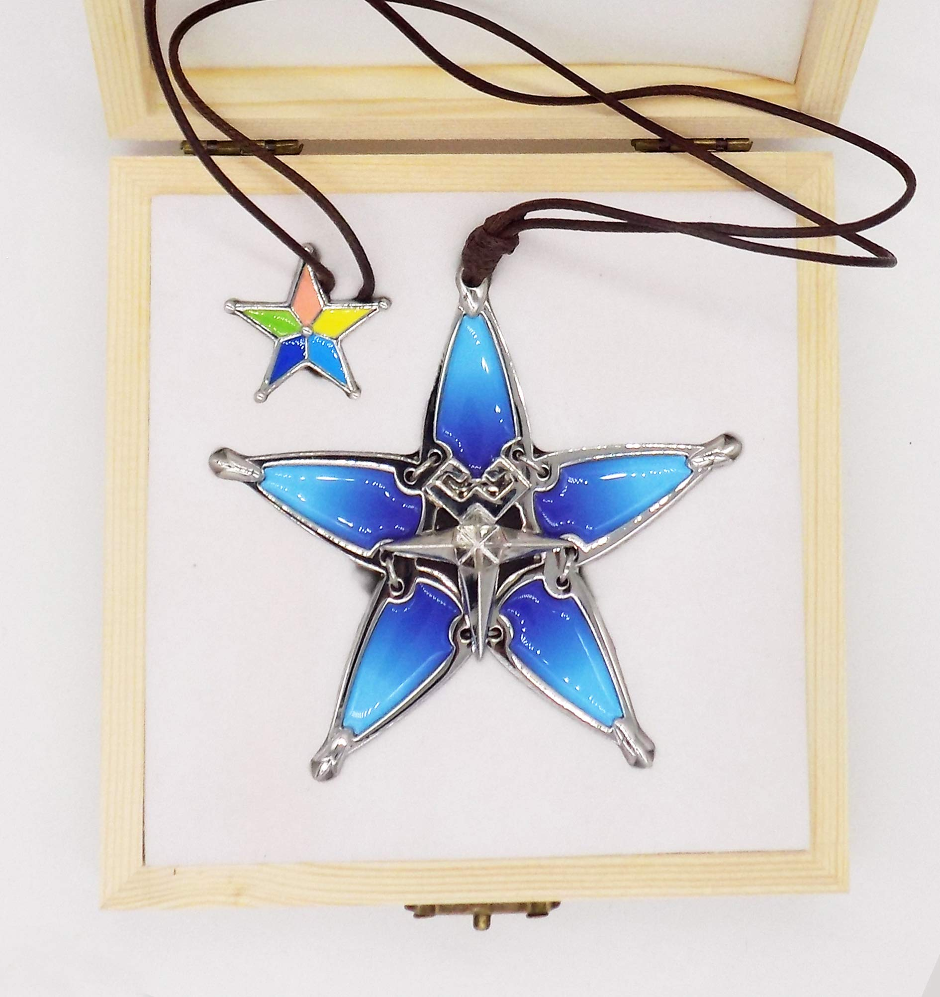 Decalism Aqua's Wayfinder from Kingdom Hearts Made of Metal