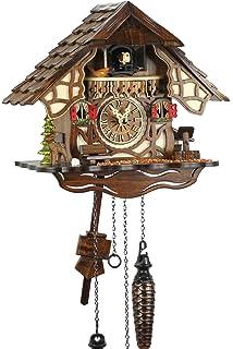Selva NEGRA uhrenfabrik kammerer reloj de madera con mecanismo de pilas y cuco - oferta de