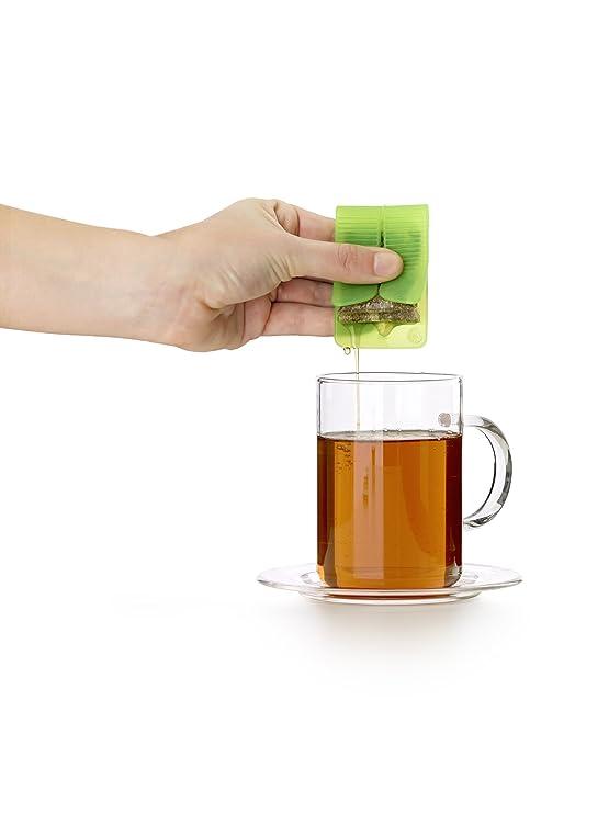 Compra Lékué Teasquee - Exprimidor para bolsita de té o infusión, color negro en Amazon.es