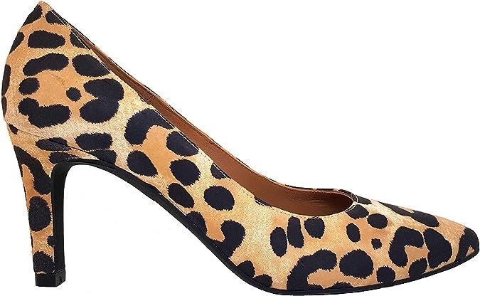 TALLA 36 EU. Medina - Salones Stilettos de Vestir para Mujer en Piel con Punta FinaTacon Fino de 7 cm - Hechos en España - Moda Zapatos Tacones Elegantes -