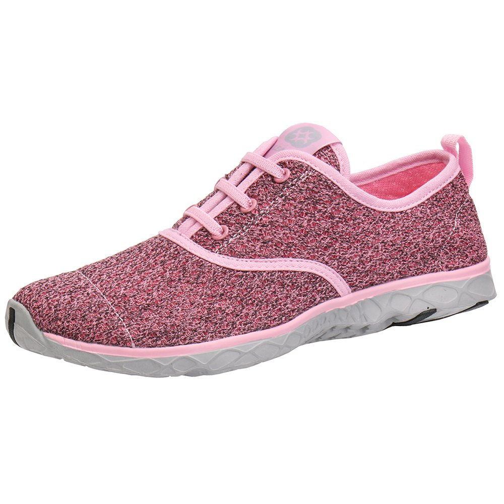 Aleader Women's Stylish Quick Drying Water Shoes Pink 8.5 D(M) US/EU 40